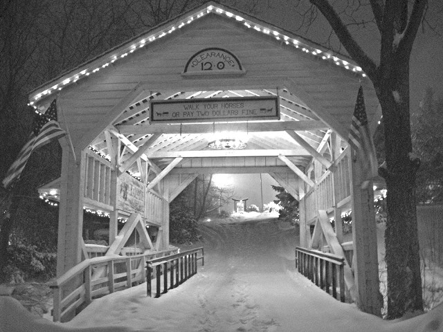 Covered bridge in Skippack
