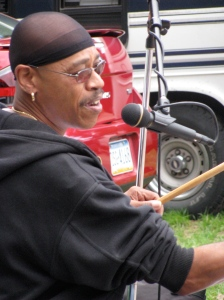 Lenny Gordon: Band leader, vocals, drums & percussion for Lenny G & the Soulsenders.